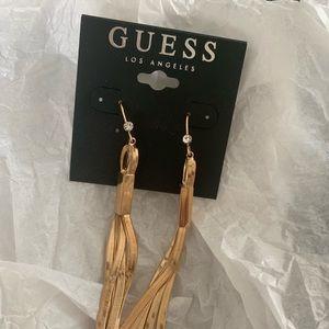 New guess earrings